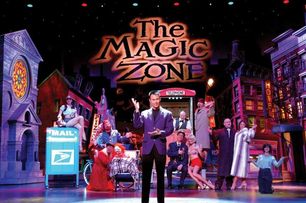 Lance Burton Master Magician in The Magic Zone