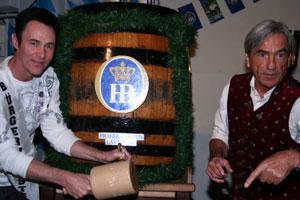 Master Magician Lance Burton at Hofbrauhaus, 2009