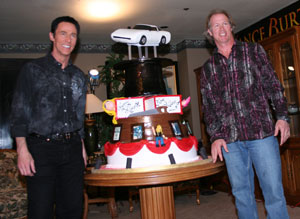 Lance Burton Master Magician Birthday Cake