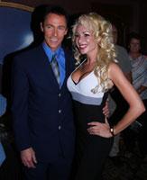 Lance Burton with Gabriella Versace
