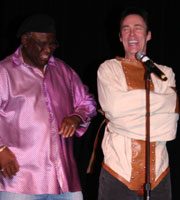 Master Magician Lance Burton with George Wallace