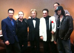 Magicians Lance Burton, Teller, Siegfried, Roy, Penn and Criss Angel