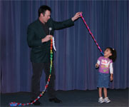 Lance Burton and Friends Entertain Children